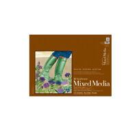 "Strathmore Mixed Media 400 Series Glue-Bound Pad (140 lb. 15 Sheets Vellum) 6x8"""