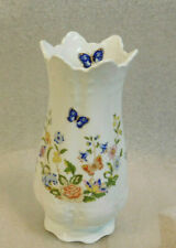 "AYNSLEY COTTAGE GARDEN 8"" Footed Victorian Vase"