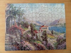 VINTAGE VICTORY GOLD BOX ARTISTIC  WOODEN JIGSAW PUZZLE - 200 Pieces