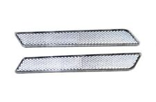 Clear Latch Cover Reflectors for Harley- Davidson Saddlebags 2014-2017