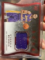 2015-16 Panini Luxe Rookie D'Angelo Russell Jersey Relic 59/99 RC LAKERS