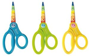 "Westcott 13cm 5"" Children's School RH Scissors with Microban Hygiene Protection"