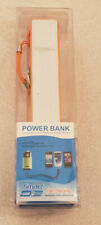 Power Bank 2600mAh USB Power Bank Orange Portable