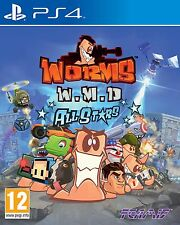 Worms WMD w.m.d All Stars | PlayStation 4 PS4 (Nouveau)