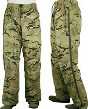 More details for british army lightweight mtp goretex waterproof trousers multicam mvp used