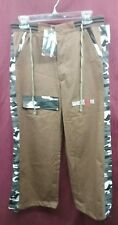 Assasin Mali3U Brown Beach Pants Men's Size 30