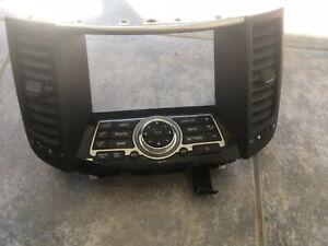 INFINITI FX35 QX70 CENTER DASH RADIO DISPLAY SCREEN CONTROL TRIM PANEL # 44554