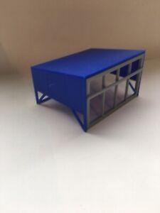 Blue 1/32 Scale Calf Creep Feeder Diorama Display Cattle Scratch Built