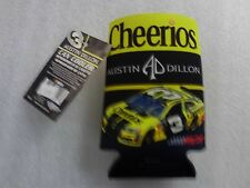 Austin Dillon #3 Nascar beer coozie coolie can cooler Cheerios New