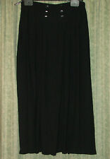 Lovely black skirt 100 % viscose Size 8 /10. Great condition