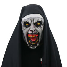 The Nun Mask Conjuring Scary Witch Mask Halloween Party Latex Costume Cosplay