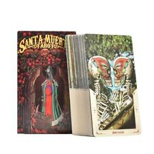 78 Tarot Cards Santa Muerte Tarot Deck Book of the Dead English Board Game