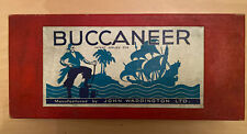 Buccaneer Vintage Board Game John Waddingtons Ltd 1930's