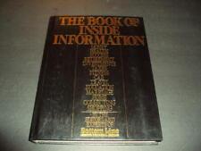 Book Of Inside Information 1989 Print Bottom Line Hc Id:45242