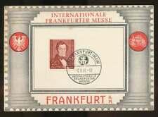 Berlin Nr. 74 gestempelt auf Messe-Karte, Albert Lotzing (60597)