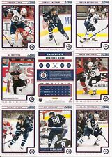 2012-13 Panini Score Winnipeg Jets Complete Team Set (16)