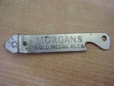 Rare Vintage MORGANS ALES Bottle Can  / Beer Bottle Opener