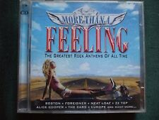 "VA - More Than A Feeling.Double CD.""The Greatest Rock Anthems Of All Time""."