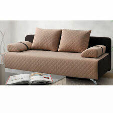 Fabric Living Room Checked Double Sofas