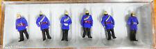 Preiser HO #12102 (1900s Figures) -- Firemen (Painted Figures)