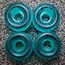 CLEARANCE Sector 9 Nineball 64mm 78a Cruiser Skateboard Wheels - Clear Aqua (Set