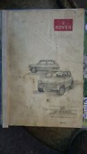 Genuine Rover Mini Workshop manual memorabilia collectable