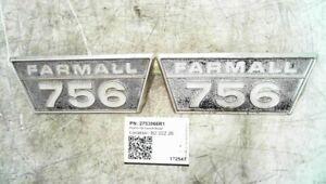 International PLATE-756 Farmall Model 2753966R1