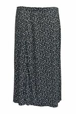 Viscose Knee-Length Floral Skirts for Women