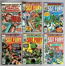 6x Marvel Comics Sgt. Fury and his Howling Commandos US Comics 70er years #A-803