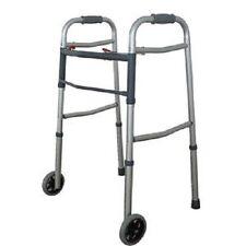 Cardinal Health™ Two-Button Folding Wheeled Walker