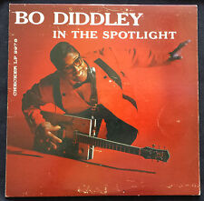 "BO DIDDLEY LP ""IN THE SPOTLIGHT"" 1960 CHECKER 2976 MONO 1ST PRESSING"