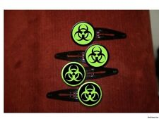 BIOHAZARD Atomic Zombie Green set of 4 barrettes