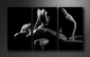 Bilder auf Leinwand Frau 160x90cm XXL 1019 /Marke vIsario