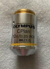 Objetivo De Microscopio Olympus UIS – CPlan 10x RC
