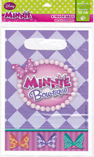 Party Bags DISNEY MINNIE MOUSE Candy Treat Favors Birthday 8 Pk Hallmark S1