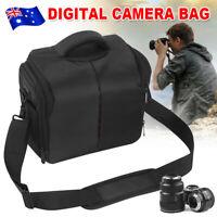 DSLR SLR Camera Bag Shoulder Soft Lens Case Shockproof For Nikon Sony Canon EOS