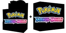 SWORD AND SHIELD BOOSTER BOX+ELITE TRAINER KIT COMBO NEW POKEMON TCG SHIPS 2/7