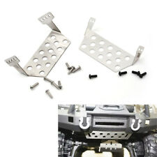 2Pcs TRX4 Stainless Steel Chassis Protector Plate for 1/10 RC Crawler Traxxas LS