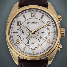 OMIKRON Striker Swiss Multi Function Men's Luxury Dress Watch  No Box