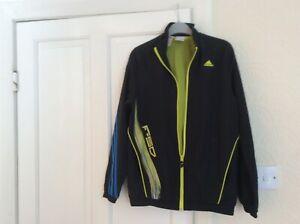 Adidas tracksuit jacket black age 13/14 yrs