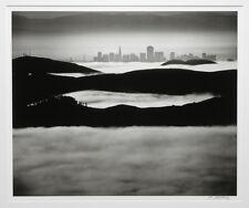 JOHN WIMBERLEY 1977 SAN FRANCISCO FROM MOUNT TAMALPAIS 16X20 PHOTOGRAPH