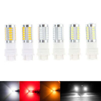 2Pcs 3157 33-SMD 5730 5630 LED Car Turn Tail Signal Backup Reserve Lig li
