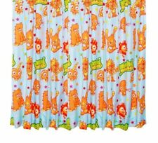 "100% Official Kids Moshi Monsters - 66"" Wide  x 54"" Drop Curtains"