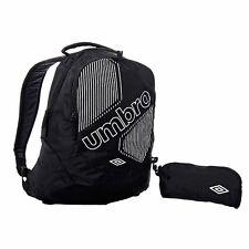 UMBRO BACK PACK / SCHOOL BAG INCLUDING PENCIL CASE--BLACK