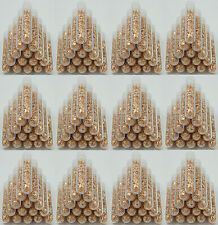 500 Large 3ml Vials Filled Full of Gold Leaf Flakes THE lowest Price on Ebay!!!!