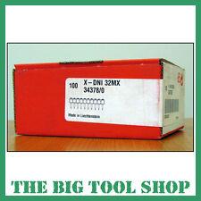 HILTI 32MM GENUINE NAILS FOR HILTI DX460 X-DNI 32 MX 34378 MAGAZINE