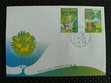 BELARUS BISON BISONS WISENT WISENTE BUFALLO CEPT FDC COVER c4512