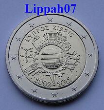 Cyprus 2 euro 10 jaar Euro 2012 UNC