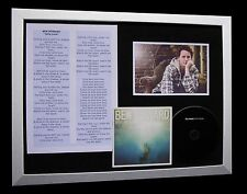 BEN HOWARD Only Love LTD GALLERY QUALITY CD FRAMED DISPLAY+EXPRESS GLOBAL SHIP!!