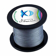 Gray Super Strong PE Braided Fishing Line 100M Multifilament PE Lines 1.5#